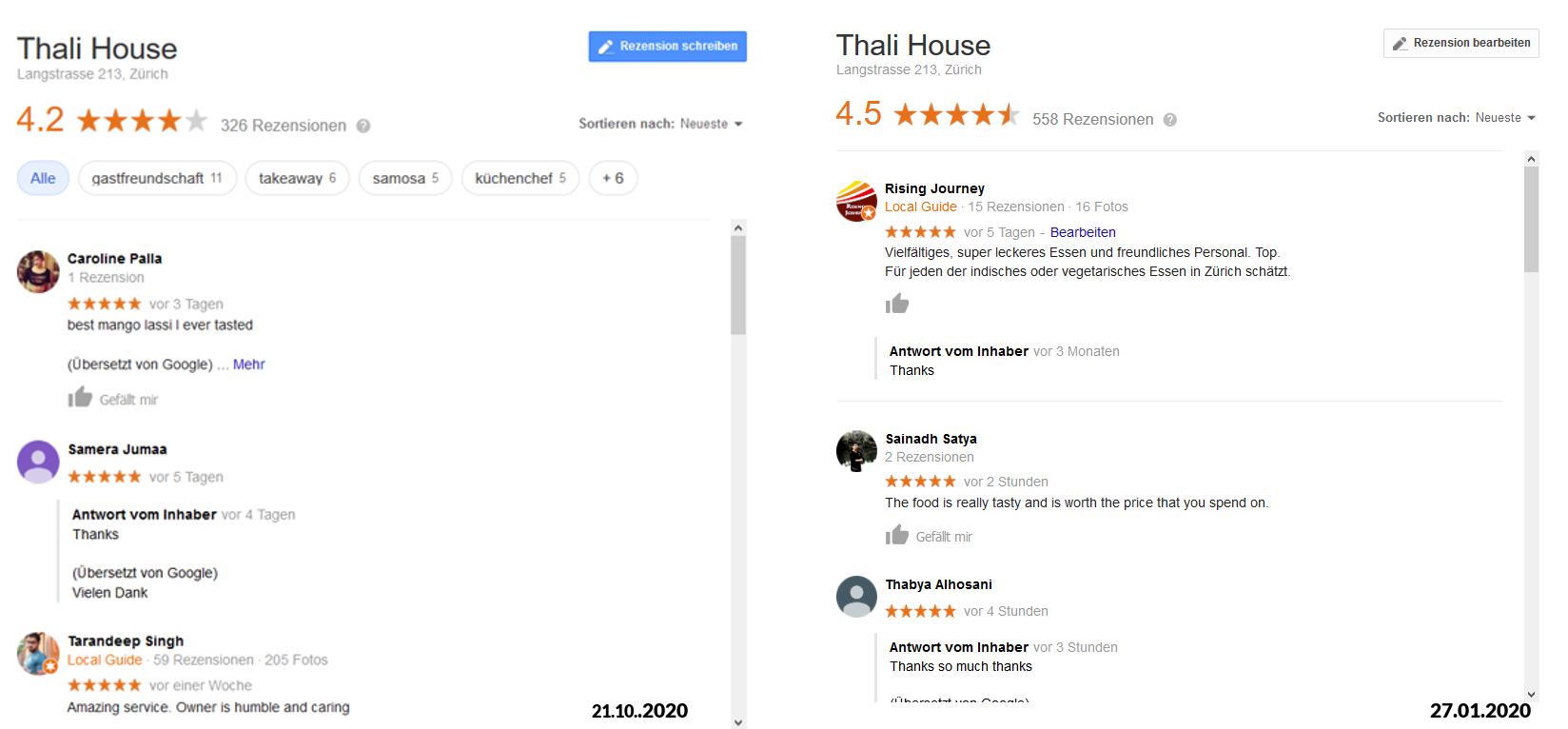 Online Marketing - Google Bewertungen